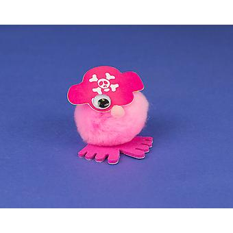 Pink Pirate littlecraftybug Craft Kit for 10 Kids | Skull & Crossbones Crafts