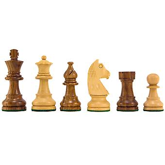 Down Head Knight Sheesham Staunton Chess Pieces 2.5 Inches