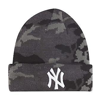 Ny æra barna vinter lue Beanie - NY Yankees mørke camo