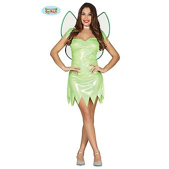 Sexy green fairy costume for ladies Carnival Carnival fairy green wing