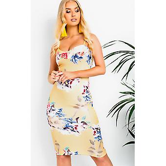 IKRUSH Womens Amelie Midi Floral Dress