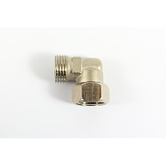 Male/Female - 22mm Elbow Compression Fitting  Connector for Showers and Baths