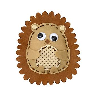 Kit to Make Heidi the Hedgehog - Sewing Craft for Kids | Sewing for Kids