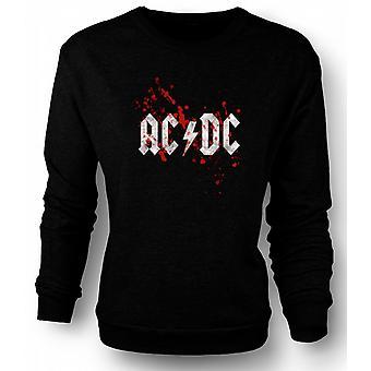 Mens Sweatshirt AC/DC - Rock Band - Logo