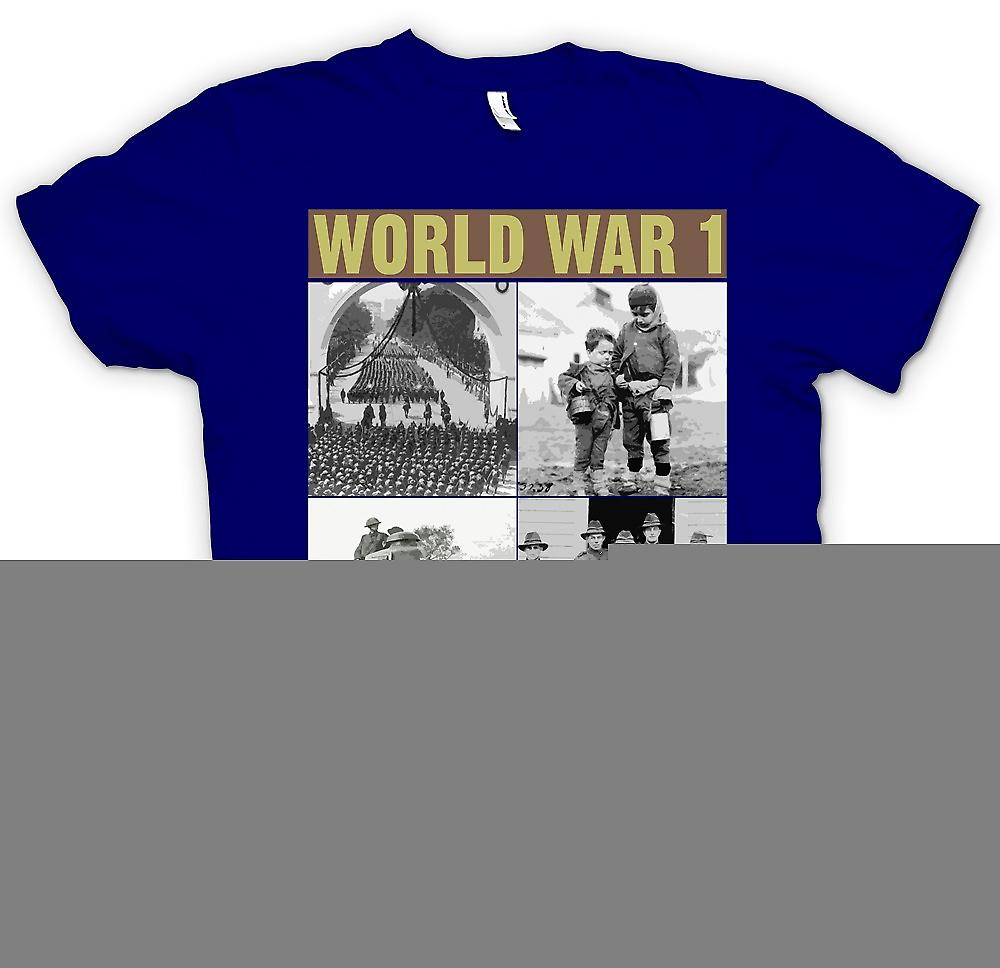 Mens T-shirt - World War 1 - Images Of War