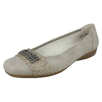 Ladies Rieker Casual Flat Shoes L8360