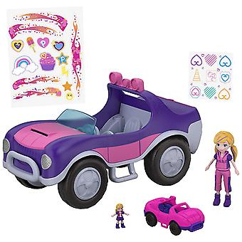 Polly Pocket FWY26 S.U.V aventura ruedas