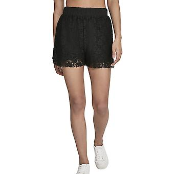 Urban classics ladies - LACES Shorts black