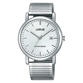 Lorus Watches classic wristwatch analog quartz stainless steel lined rg855cx9