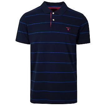Gant GANT Navy Striped Polo-Shirt
