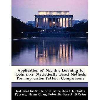 Aplicação de aprendizado de máquina para o departamento estatisticamente com base em métodos para comparações de padrão de impressão pelo Instituto Nacional de Justiça NIJ
