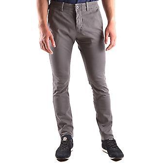 Stone Island Grey Cotton Pants
