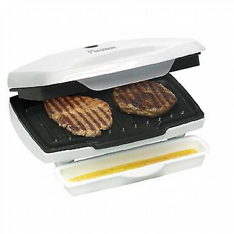 700 W multi-function griddle and grill.