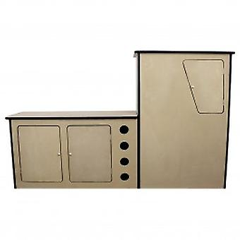 MDF Camper Van Kitchen Unit