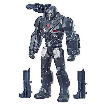 Avengers: Endgame Titan helten serien Marvels War Machine figur strøm FX Port