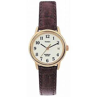 Timex Ladies Natural Brown Easy Reader T20071 Watch