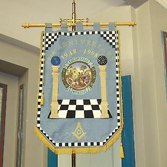 Machine Made Embroidery Masonic Banners