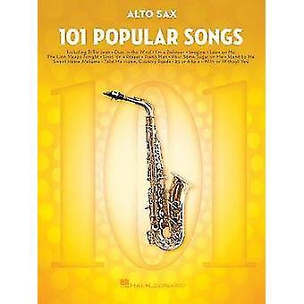 101 Popular Songs - Alto Saxophone - 9781495090257 Book