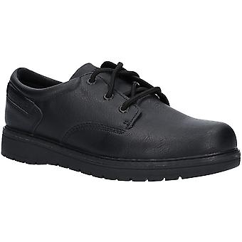 斯凯彻斯男孩格拉格伦城市区蕾丝智能牛津鞋