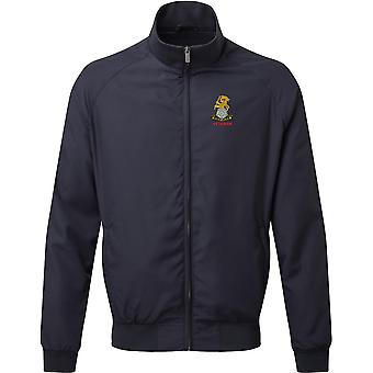 Yorkshire Regiment Veteran - Licensed British Army Embroidered Harrington Jacket