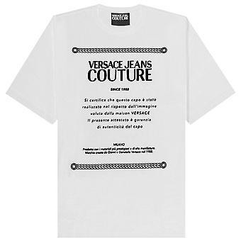 Versace Jeans Couture Logo Plaque T-shirt