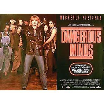 Dangerous Minds Original Cinema Poster