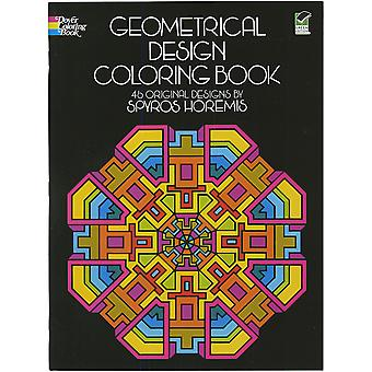 Dover Publications Geometrical Design Coloring Book Dov 01801