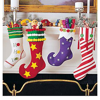Christmas Stockings  One Size Only Pattern M2991  Osz