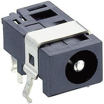 Low power connector Switch contact type: Normally-closed Socket, horizontal mount 4.4 mm 1.6 mm Lumberg 1613 05 1 pc(s)