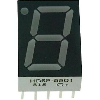 Seven-segment display Red 14.22 mm 2.1 V No. of digits: 1 Avago Technologies
