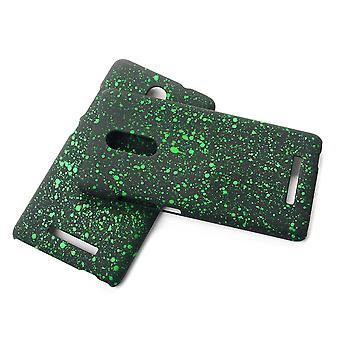 Cell phone cover case bumper shell for Xiaomi Redmi note 3 3D Star Green