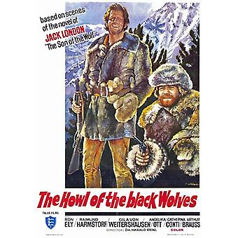 Howl of the Black Wolves Movie Poster (11 x 17)