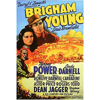 Brigham Young Movie Poster Print (27 x 40)