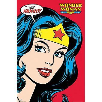 Wonder Woman - freche Plakat Poster drucken