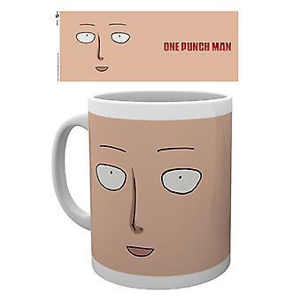 One Punch Man Face Mug