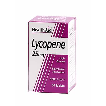 Health Aid Lycopene 25mg, 30 Tablets