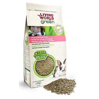 Living World Lw Green Young Rabbit 1.4 Kg (Small animals , Dry Food and Mixtures)