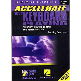 Accelerate Your Keyboard Playing [DVD] USA import