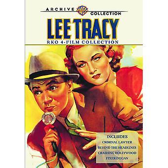 リー Tracy Rko 4 映画コレクション 【 DVD 】 USA 輸入