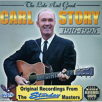 Carl Story - Late & Great [CD] USA import