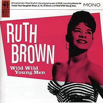Ruth Brown - vilde vilde unge mænd [CD] USA import