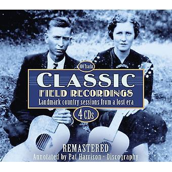 Klassiske felt optagelser - Classic Field Recordings [CD] USA importerer