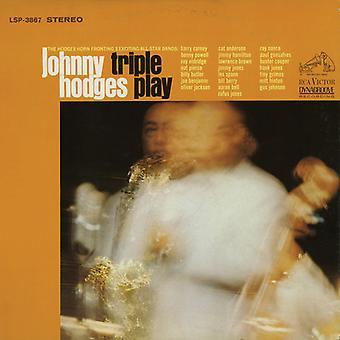Johnny Hodges - importación de Estados Unidos Triple Play [CD]