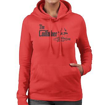 Ojciec chrzestny Codfather połowy kobiet Logo firmy z kapturem Bluza