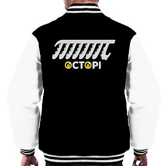 Octopi Aquatic Maths Joke Men's Varsity Jacket
