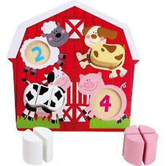 Legler Puzzle  Animal Farm  (Toys , Preschool , Puzzles And Blocs)