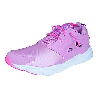 Reebok Furylite Kids Trainers / Shoes - Pink