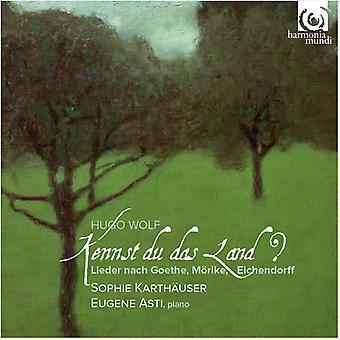 Wolf / Asti, Eugene / Karthauser, Sophie - Kennst Du Das Land [CD] USA import
