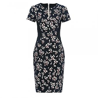 French Connection Eva Cotton Short Sleeve Womens Dress