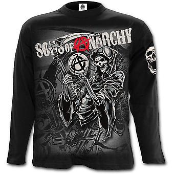 Spirale - MONTAGE REAPER - Sons of Anarchy Long Sleeve T-Shirt noir
